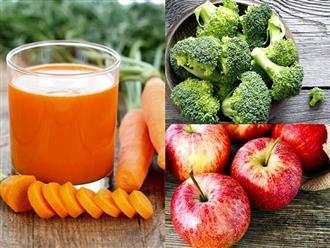 Hóa ra những thực phẩm giải độc gan cực hiệu quả này lại có sẵn trong căn bếp nhà bạn