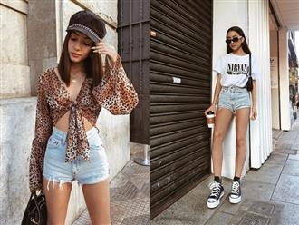 Học các fashionista thế giới cách lên đồ ngày mưa nắng thất thường với crop top trẻ trung