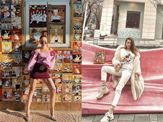Học hỏi phong cách thời trang nổi bật xuống phố ngày lạnh của mỹ nhân Việt