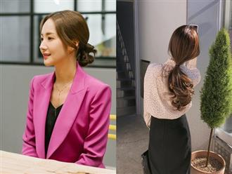 Học ngay nàng Park Min Young cách buộc tóc siêu mát, giúp tránh tối đa tình trạng mụn lưng hè này