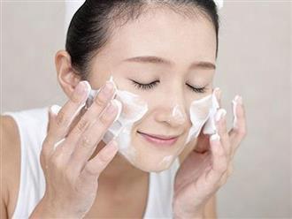 Học quý cô Hàn - Nhật rửa mặt theo phương pháp 4-2-4 cho da căng mịn