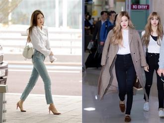 """Học sao Hàn mix đồ với quần skinny jean vừa tôn dáng lại """"nịnh"""" chân hết nấc"""