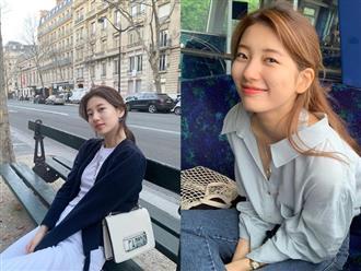 """Học Suzy lên đồ chuẩn """"girl điệu đà"""": Dạo phố xinh ngời ngời, đến công sở toả sáng hết phần đồng nghiệp"""