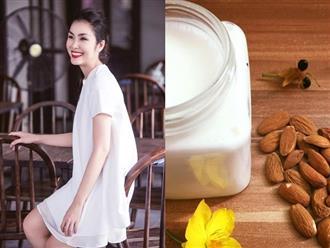 Học Tăng Thanh Hà cách làm sữa hạnh nhân cực dễ vừa đẹp da lại thon dáng