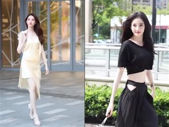 Hội hot girl xứ Trung dạo bước trên phố, khoe chân dài miên man cùng những bộ cánh 'nóng bỏng mắt'