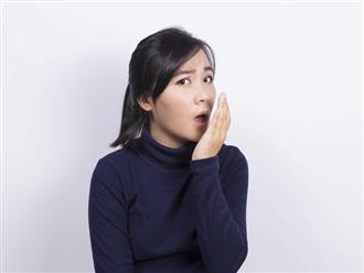 Hơi thở có mùi lạ cũng là một dấu hiệu sức khỏe mà bạn không nên xem thường