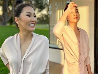Hồng Đào khiến khán giả ngỡ ngàng với nhan sắc xinh đẹp, trẻ trung ở tuổi U60