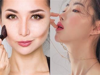 Hướng dẫn chị em 3 cách tạo khối cho khuôn mặt trở nên thon gọn hoàn hảo