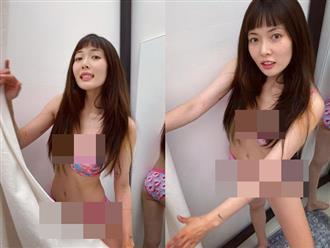 """Hyuna gây sốc khi diện độc nội y chụp ảnh góc """"hiểm hóc"""", lộ body gầy trơ xương khác một trời một vực so với trước kia"""