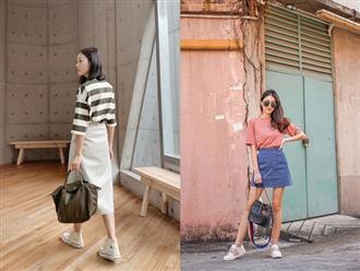 Ít ai biết rằng: Chân váy cũng có thể kéo chân dài miên man, nếu bạn chọn 4 kiểu dáng này