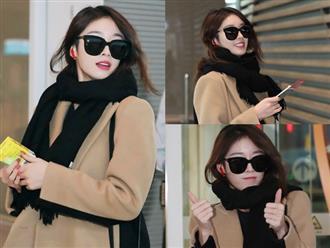 Ji Yeon (T-ara) xuất hiện như nữ thần tại sân bay, sang Việt Nam tham dự sự kiện âm nhạc lớn nhất năm