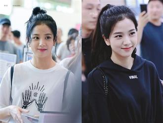 Jisoo đâu chỉ xõa tóc suốt ngày, cô nàng còn có 4 cách buộc tóc xinh ngẩn ngơ mà ai không học theo sẽ tiếc