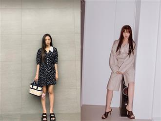 Jisoo, Joy, Lee Sung Kyung… đua nhau diện jumpsuit: Netizen người khen dễ thương, người lại chê bất tiện