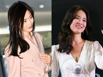 Jun Ji Hyun sinh 2 con vẫn trẻ đẹp hơn Song Hye Kyo
