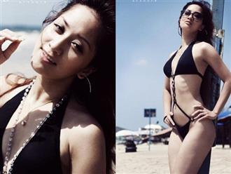 Khánh Thi khoe loạt ảnh diện bikini 10 năm trước, dân mạng choáng trước nhan sắc xinh đẹp của cô thuở đôi mươi