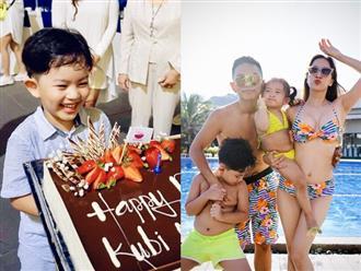 Khánh Thi tổ chức tiệc sinh nhật hoành tráng cho con trai ở resort 5 sao, nhân tiện khoe luôn vóc dáng nóng bỏng với bikini