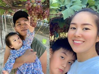 Lê Phương khoe ảnh về thăm quê nội nhưng dân mạng chỉ chú ý đến mối quan hệ giữa mẹ chồng và con riêng của nữ diễn viên