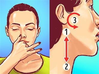 Không cần dùng thuốc, 8 cách tự nhiên này giúp hạ huyết áp trong vòng 10 phút