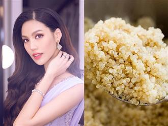 Không chỉ có Tóc Tiên, còn 3 mỹ nhân Việt khác cũng nhập hội ăn Quinoa để phục vụ công cuộc giữ dáng, đẹp da