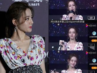 Không chỉ gây thất vọng về ngoại hình, Địch Lệ Nhiệt Ba còn bị netizen 'ném đá' vì phát ngôn gây tranh cãi