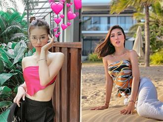 Không chỉ idol Hàn, hội gái xinh Việt cũng đang ầm ầm lấy khăn làm áo, ai cũng sexy thấy mê
