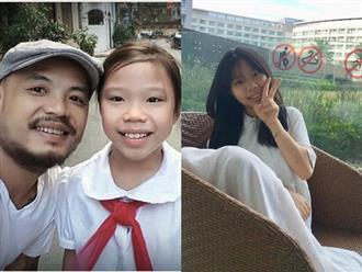 Không còn là cô nhóc bé xíu năm nào, con gái cố nghệ sĩ Trần Lập nay đã cao lớn phổng phao, ra dáng thiếu nữ