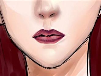 Không đánh son mà thấy môi có màu như này thì bạn cần chủ động đi khám ngay