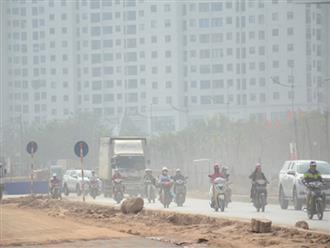 Không khí Hà Nội những ngày giáp Tết chạm mức nguy hại: Nếu không đeo khẩu trang khi ra đường là bạn sẽ lĩnh đủ hậu quả
