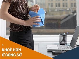 Không sửa ngay 6 thói quen này từ sớm thì dân văn phòng có nguy cơ cao mắc bệnh về dạ dày