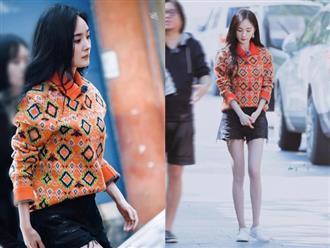 Không thuộc về ai, Dương Mịch ngày càng xinh đẹp, chỉ diện áo thun quần jeans cũng khiến fan điêu đứng