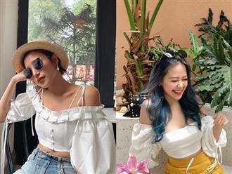 Kiểu áo quyến rũ vô ngần đang được phụ nữ Việt yêu thích