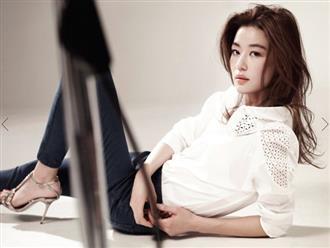 """Là gái 2 con mà """"mợ chảnh"""" Jeon Ji Hyun vẫn đẹp nuột nà khiến chị em tròn xoe mắt nhờ bí quyết giữ dáng này"""