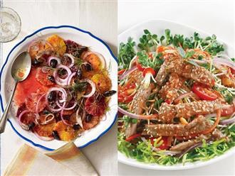 Làm đẹp da, lấy lại dáng vóc với những món salad giảm cân hữu hiệu