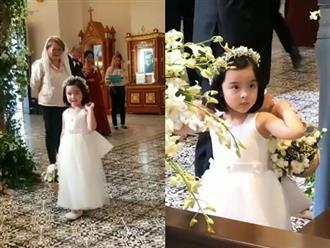 Lần đầu làm phù dâu nhí, con gái mỹ nhân Marian Rivera khiến fan bấn loạn vì quá xinh đẹp
