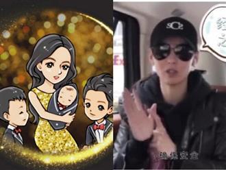 Lần đầu tiết lộ về quý tử thứ 3 sau sinh, Trương Bá Chi khiến nhiều người tò mò về nhan sắc của cậu bé