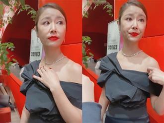Lộ ảnh già nua, kém sắc trong sự kiện, Lâm Tâm Như đăng hình 'tự sướng' không photoshop chứng minh nhan sắc thật