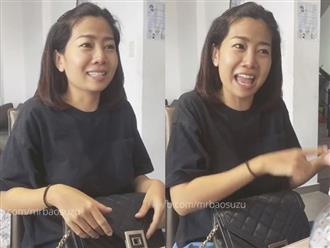 Clip Mai Phương cười đùa nhắc về 'ba Huy' trước mặt con gái, những ngày chiến đấu với bệnh tật vẫn không ngớt nụ cười