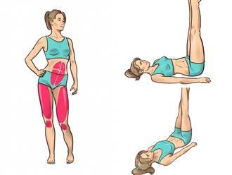 Loại bỏ nhanh mỡ hông và đùi chỉ với 3 phút thực hiện bài tập này trước khi đi ngủ