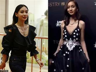 Loạt ảnh chụp lén để lộ vóc dáng thật của mỹ nhân Angela Baby, netizen Trung hoảng hồn khi xem lại