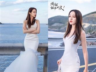 Loạt ảnh diện váy cưới đẹp không tì vết của 'mỹ nhân Tân Cương' Địch Lệ Nhiệt Ba đang khiến cộng đồng mạng bấn loạn