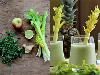 Mách bạn 5 công thức nước ép cần tây đẹp da đẹp dáng, vừa đơn giản vừa cực dễ tìm nguyên liệu