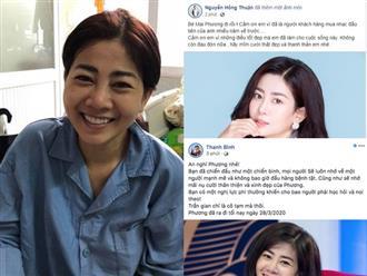 Sao Việt đồng loạt bày tỏ niềm thương tiếc trước sự ra đi của nữ diễn viên Mai Phương