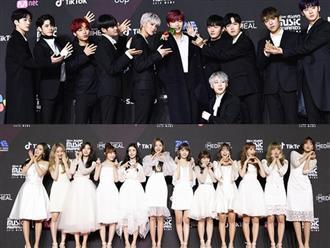 Thảm đỏ MAMA 2018 ngày đầu tiên: Wanna One đồng loạt diện suit đen siêu ngầu, IZ*ONE khẳng định nhan sắc nữ thần mới