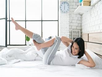 Mất ngủ thường xuyên vì căng thẳng, hãy dành vài phút mỗi tối thực hiện loạt bài tập yoga này