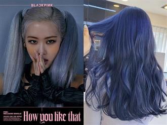 """Màu tóc xanh của Rosé quá xịn, dự sẽ thành hot trend chị em nào cũng muốn """"đu"""" theo hè này"""