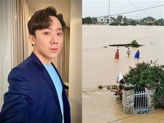 MC Trấn Thành ủng hộ 300 triệu cho đồng bào miền Trung, kêu gọi cư dân mạng chung tay góp sức