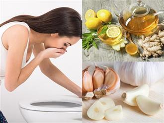 Mẹo chữa ngộ độc thực phẩm cực hiệu quả từ những nguyên liệu có sẵn trong bếp