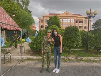 Minh Tú hoàn thành cách ly 14 ngày: Loạt ảnh cuối cùng và bức tâm thư gửi đến y bác sĩ gây chú ý