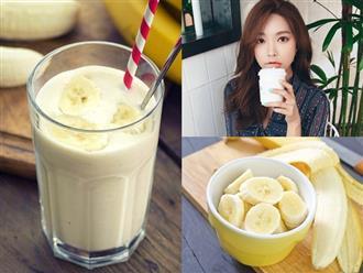 Mỗi ngày một ly sữa chuối và những tác dụng bất ngờ mà cơ thể nhận được sau 1 tuần sử dụng