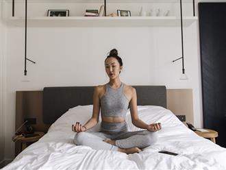 Mỗi sáng nằm trên giường thực hiện loạt bài tập này, người lười đến mấy cũng giảm cân nhanh chóng, mỡ thừa tiêu tan